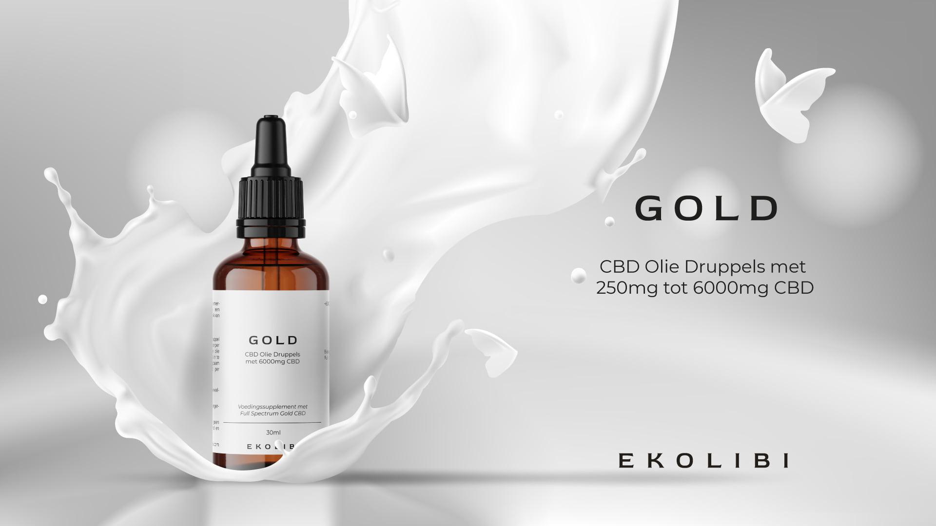 Ekolibi Gold CBD productpagina