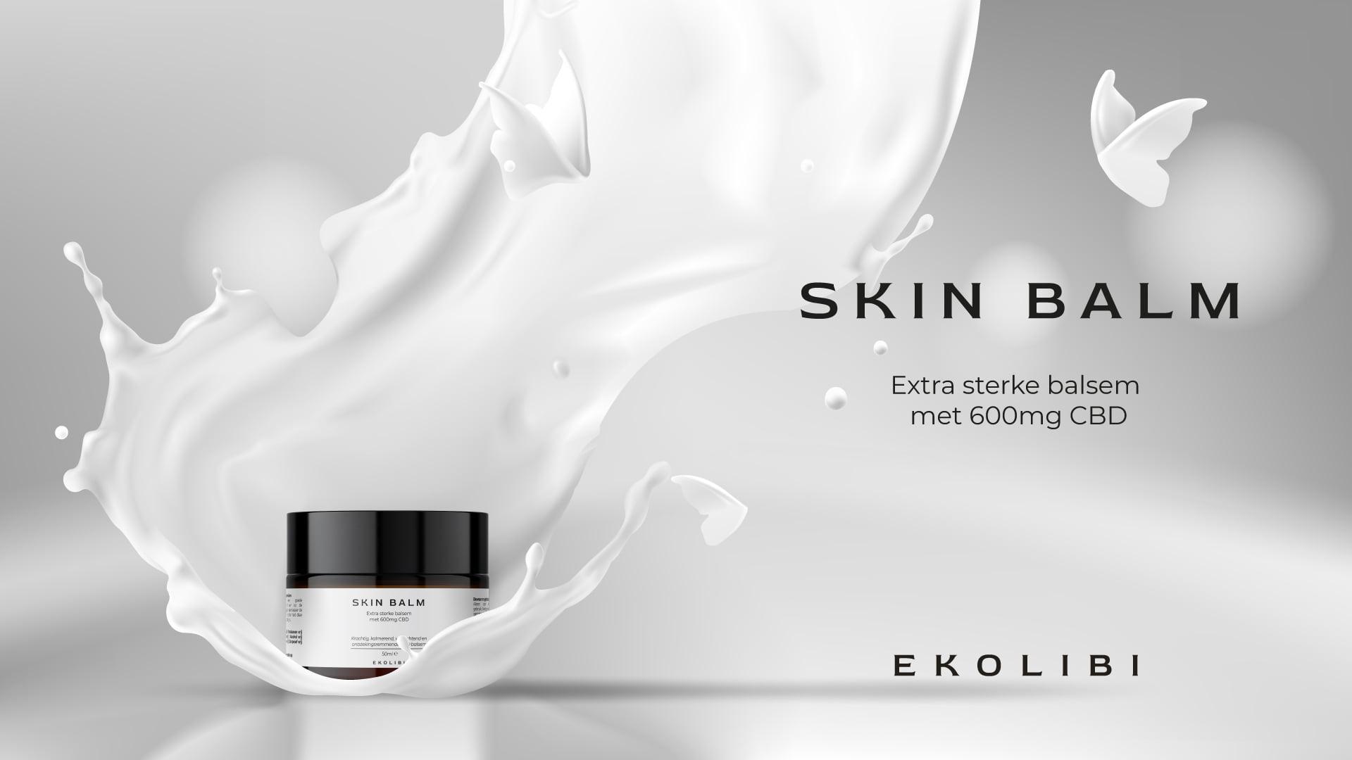 Ekolibi CBD Skin Balm (600mg CBD) 50ml