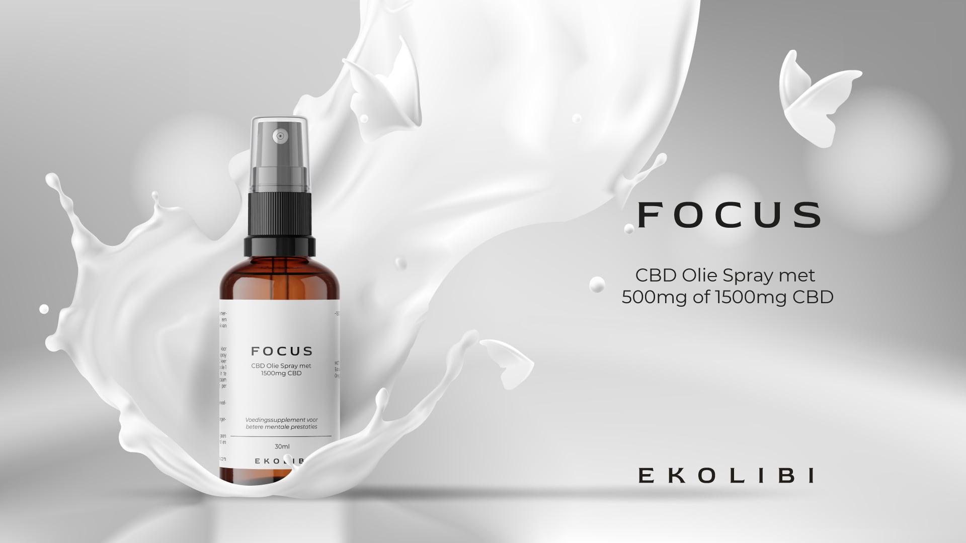 Ekolibi Focus CBD productpagina