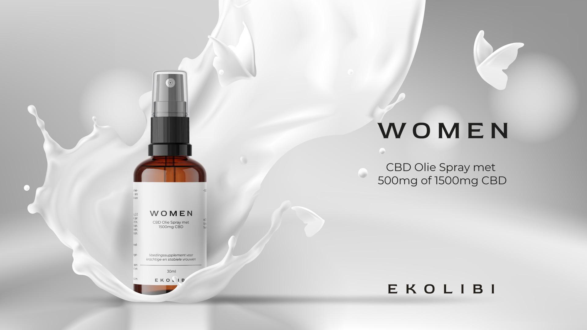 Ekolibi Women CBD productpagina