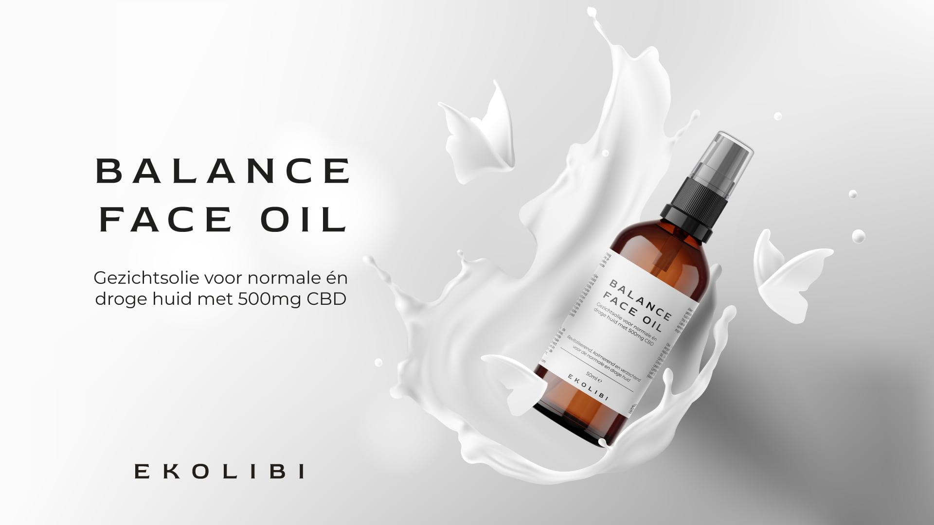 Ekolibi Balance Face Oil CBD productpagina