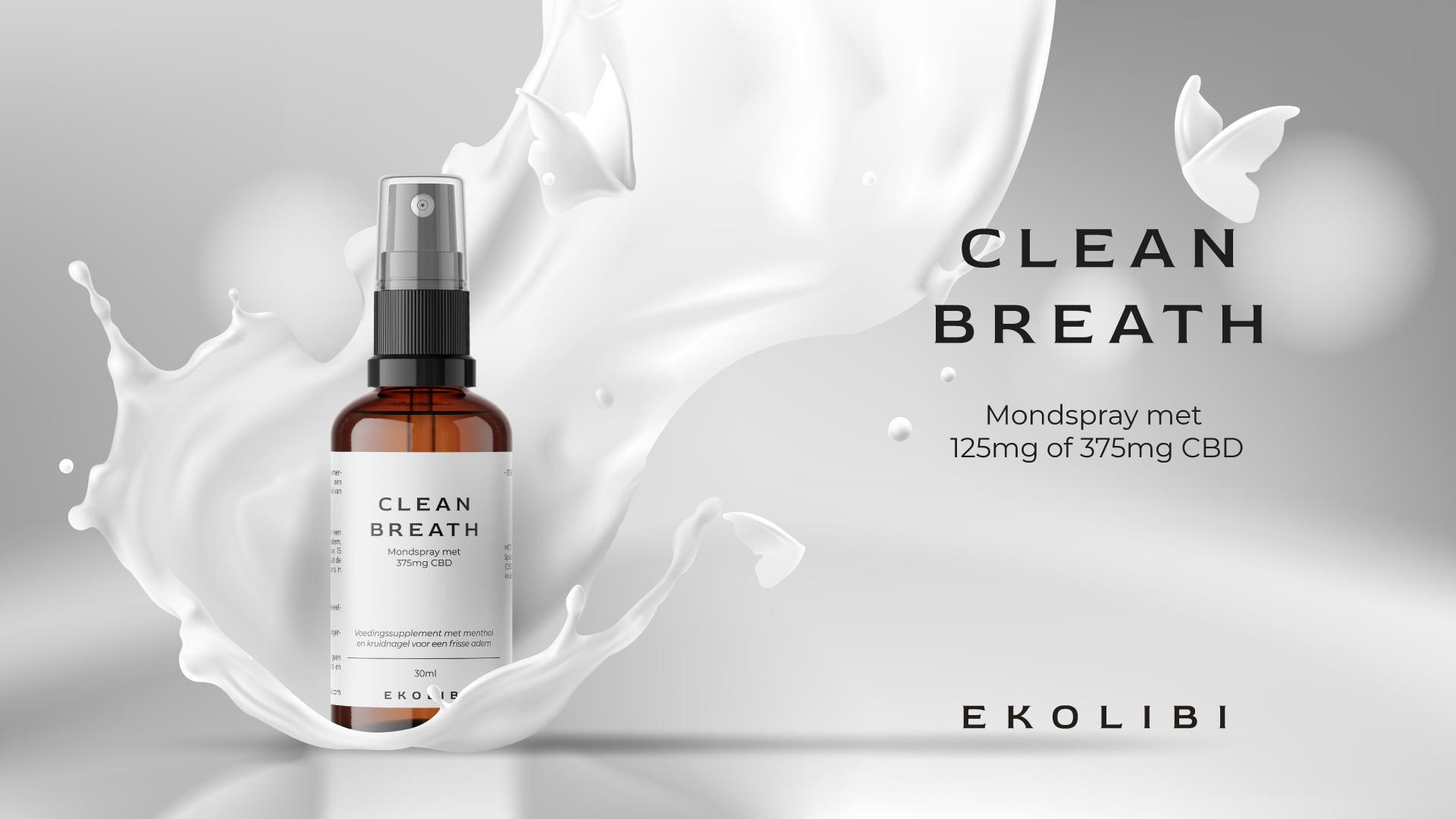 Ekolibi Clean Breath CBD productpagina