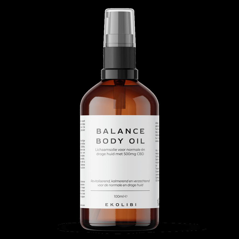 Ekolibi Balance Body Oil (500mg CBD) 100ml