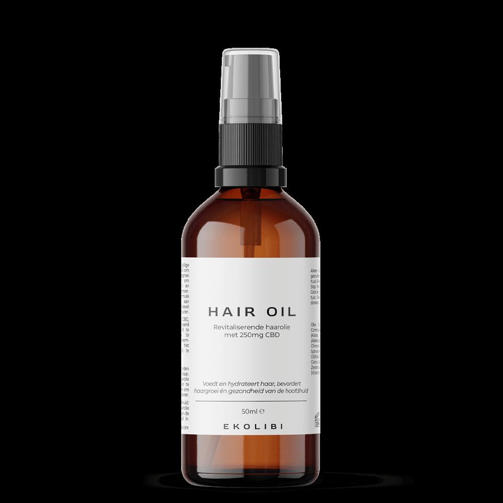 Ekolibi Hair Oil (250mg CBD) 50ml