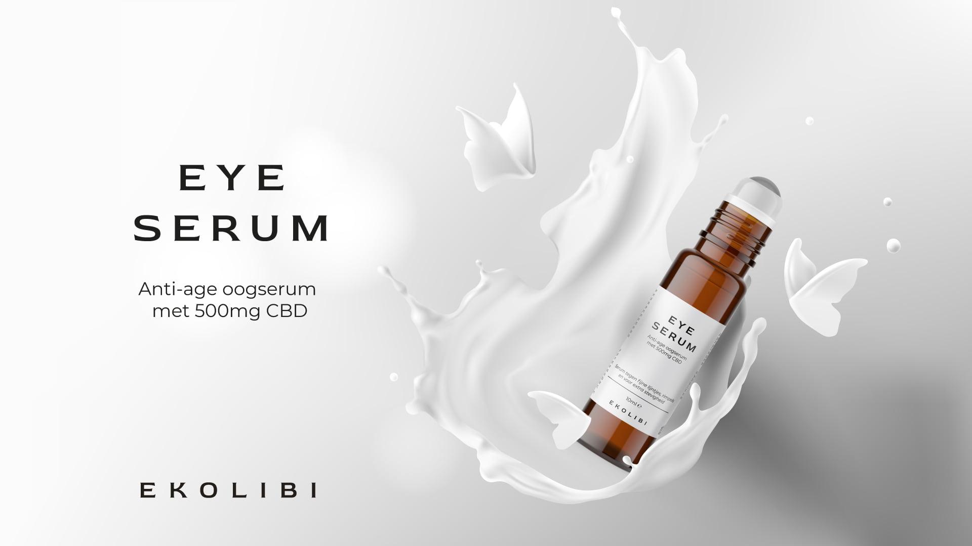 Ekolibi CBD Eye Serum (500mg CBD) 10ml