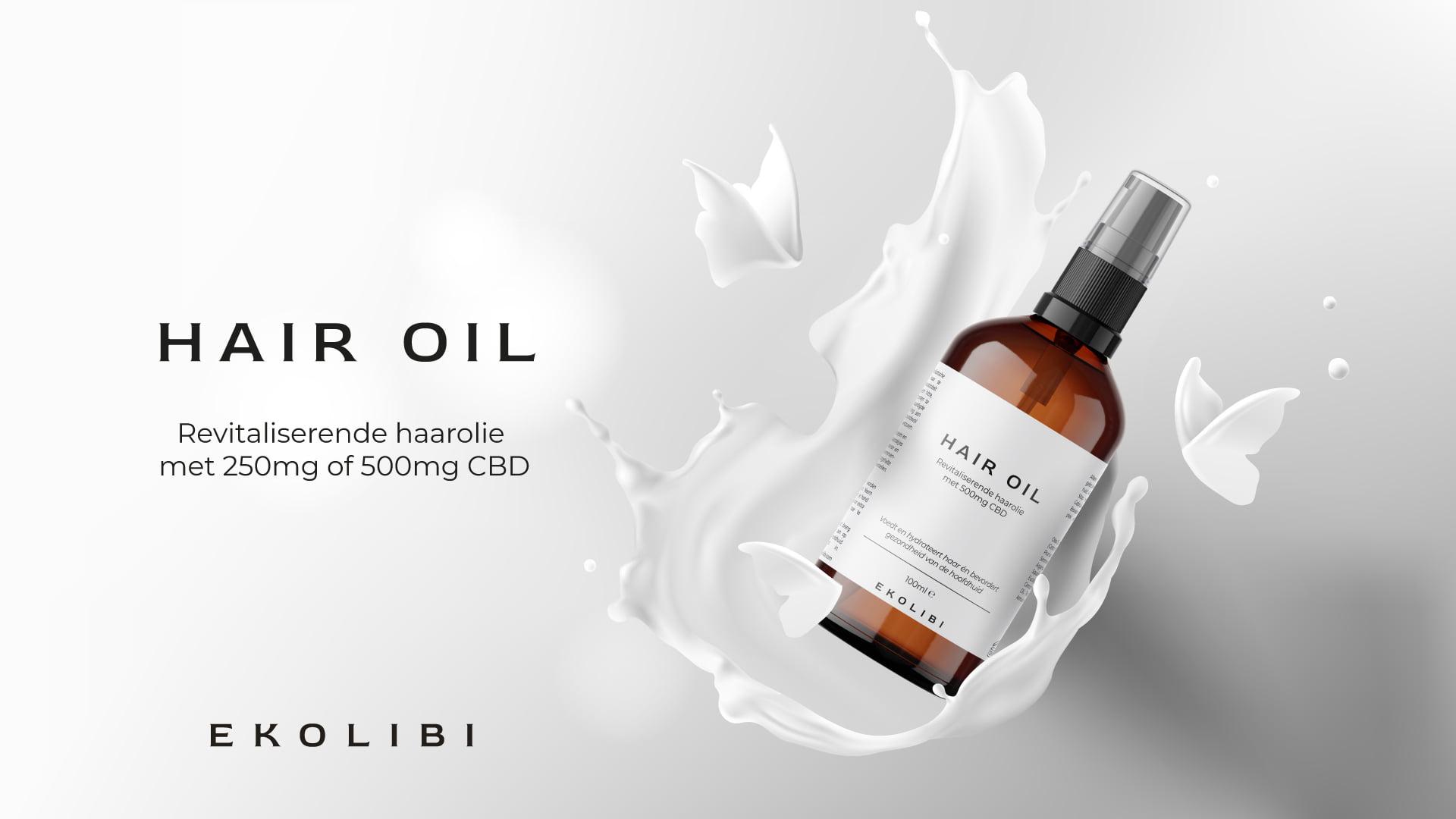 Ekolibi Hair Oil CBD productpagina