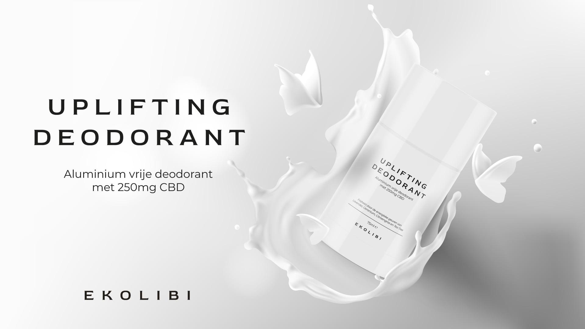 Ekolibi Uplifting Deodorant (250mg CBD) 75ml